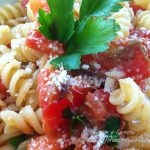 Fusilli con filetti di alici