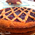 Crostata con composta di fragole