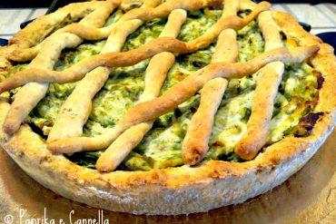Crostata integrale asparagi e ricotta di Paprika e Cannella
