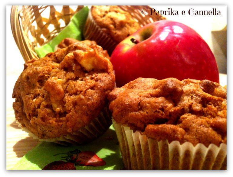Muffin di farro con mele e noci Paprika e Cannella Blog