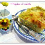 Lasagna con asparagi ricotta e salmone, ricetta