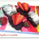 Classic Brownies ricetta con fragole