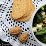 Insalata invernale spinacino e noci