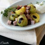 Insalata cavoletti e patate