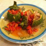 Zucchine boccetta ripiene di carne – ricetta di stagione