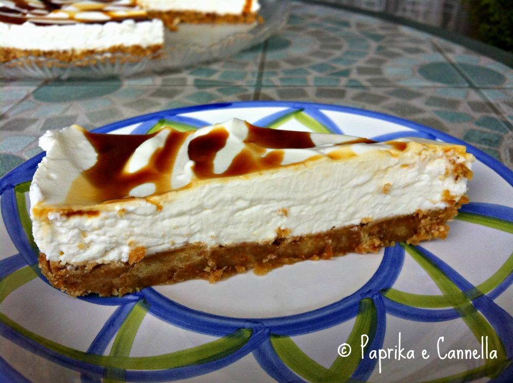 Cheesecake estiva di Paprika e Cannella