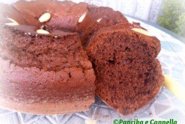 Ciambellone al cacao e mandorle di Paprika e Cannella