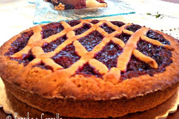 Crostata con composta di fragole di Paprika e Cannella