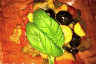 Dadolata di zucchine di Paprika e Cannella