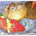 Muffin cuor di fragola al cacao per la festa della mamma