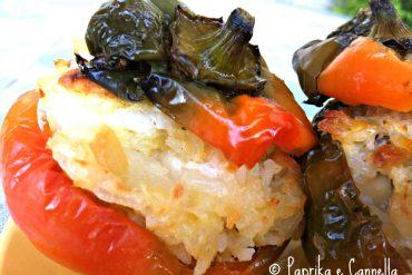 Peperoni ripieni agrodolci di Paprika e Cannella