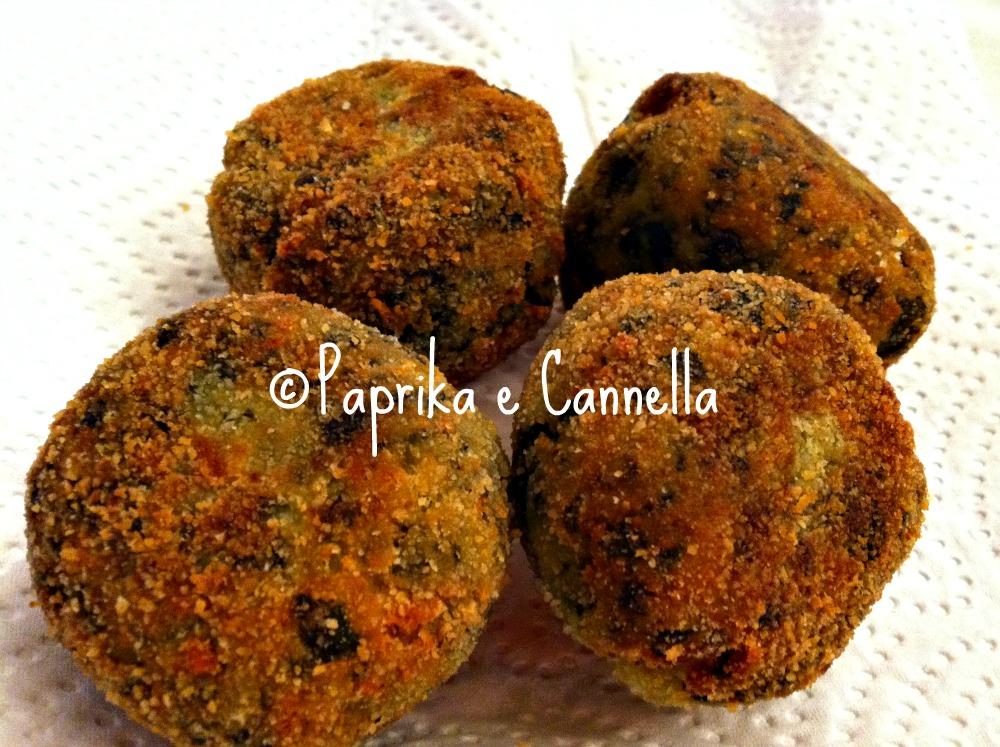 Polpette di spinaci di Paprika e Cannella