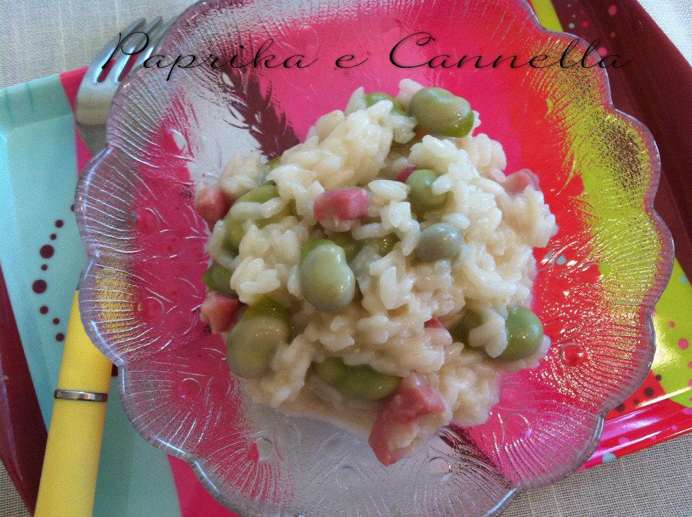 Risotto fave e pecorino Paprika e Cannella Blog.jpg