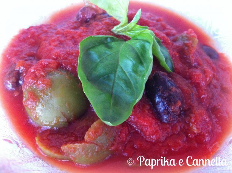 Sugo alle Olive di Paprika e Cannella