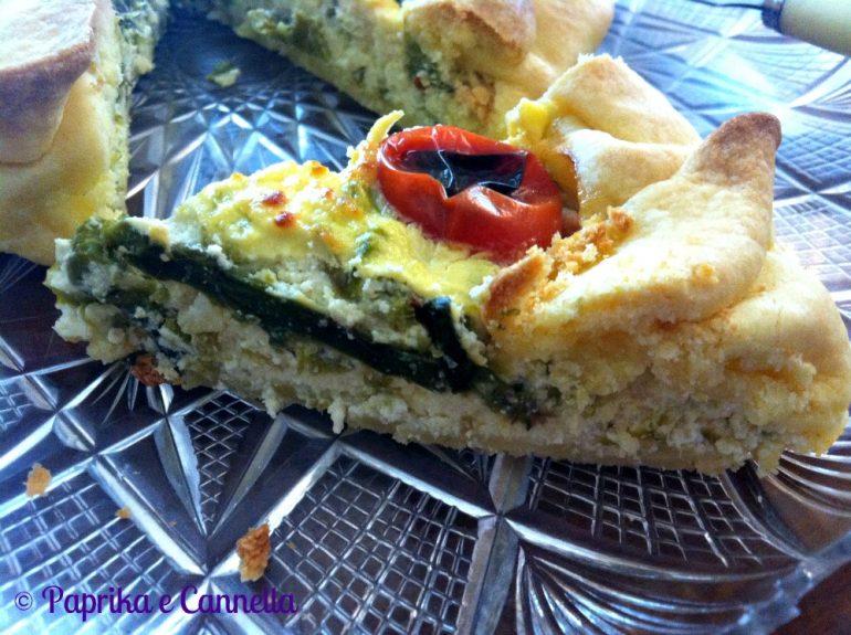 Torta rustica asparagi e ricotta di Paprika e Cannella