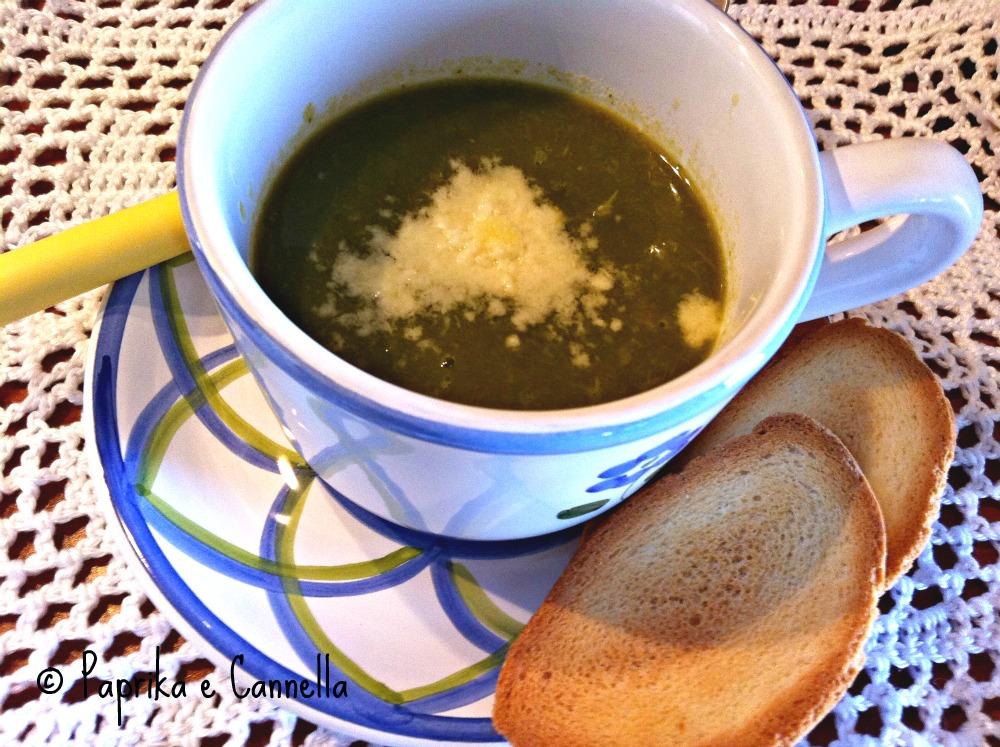 Vellutata di asparagi di Paprika e Cannella