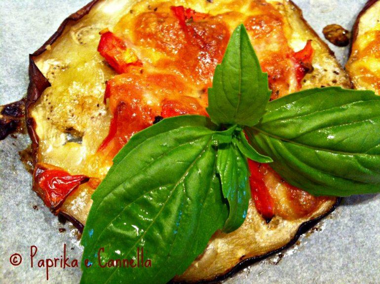 Melanzane al forno veloci di Paprika e Cannella