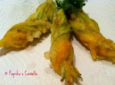 Fiori di zucca di Paprika e Cannella