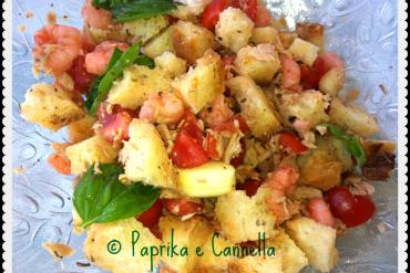 Panzanella_di_mare di Paprika e Cannella