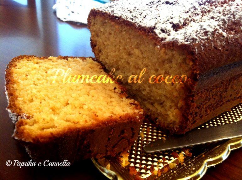 Plumcake al cocco di Paprika e Cannella