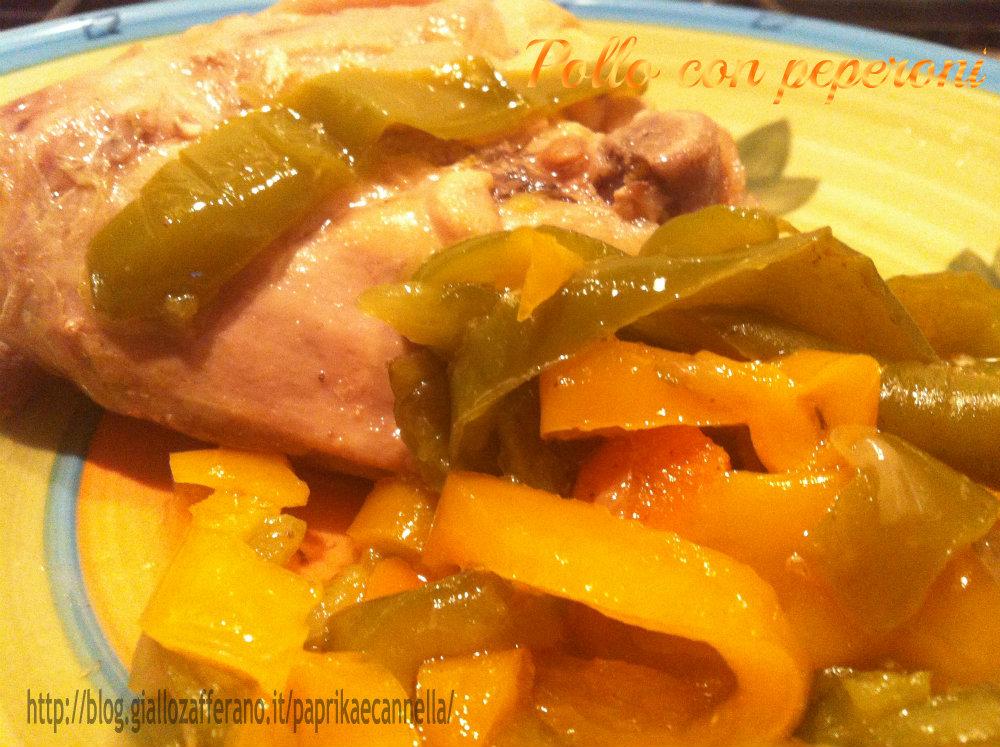 Pollo con peperoni di Paprika e Cannella