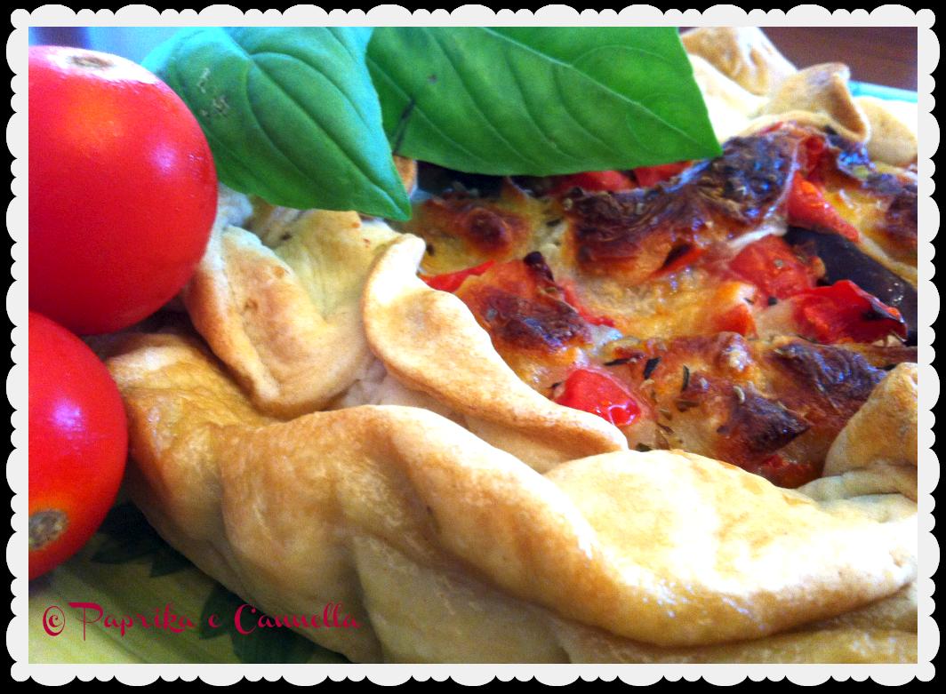 Torta di melanzane di Paprika e Cannella
