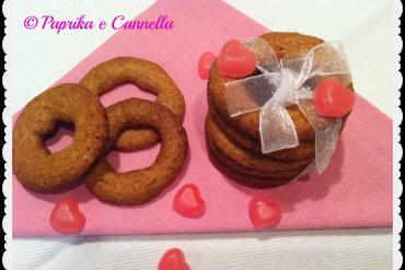 Ciambelline integrali al miele di Paprika e Canenlla