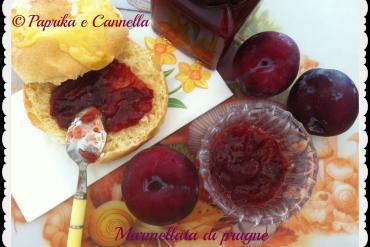 Marmellata di prugne di Paprika e Cannella