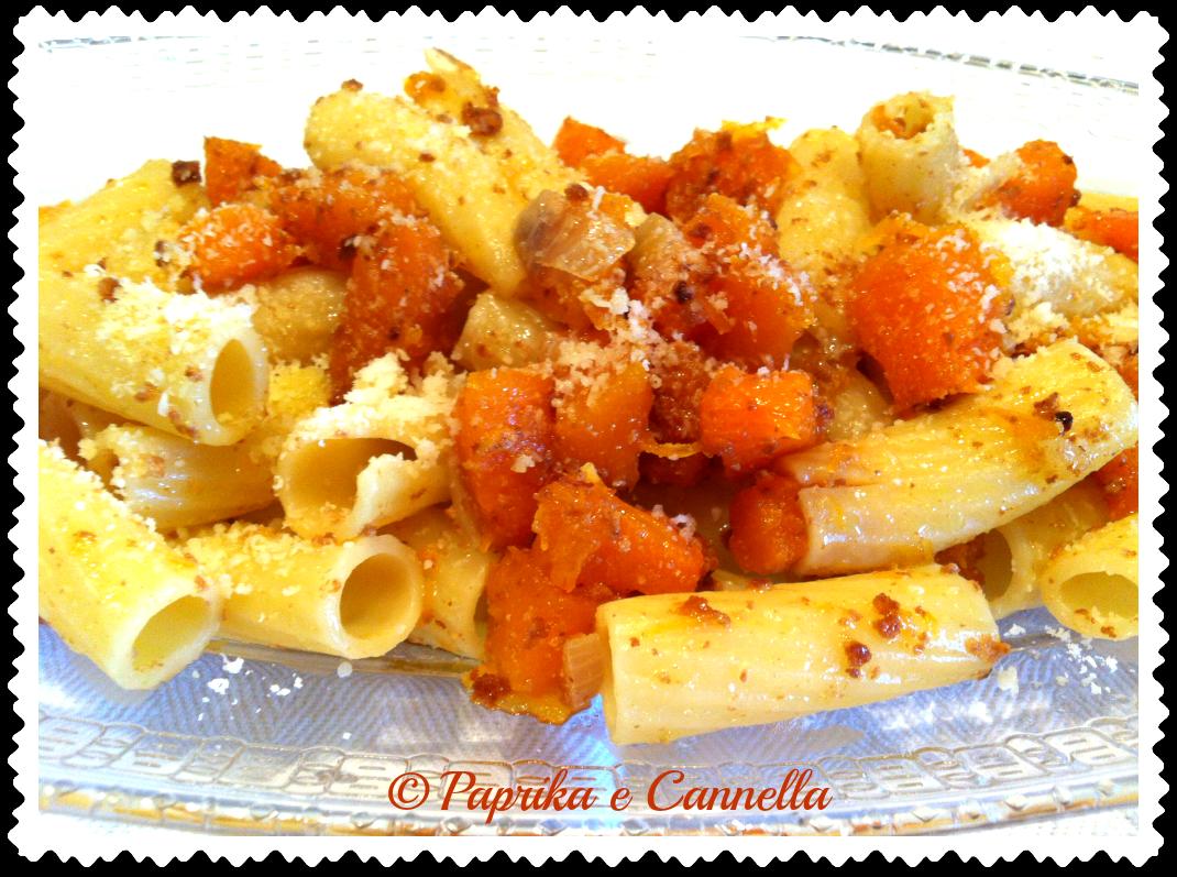 Pasta con la zucca di Paprika e Cannella