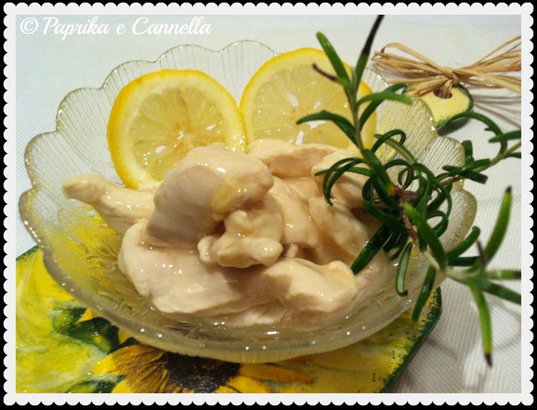 Pollo al limone di Paprika e Cannella