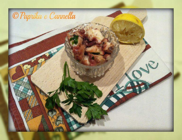 Insalata di polpo di Paprika e Cannella