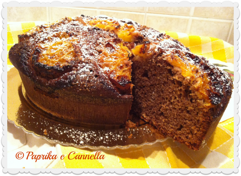 Torta cacao e arance di Paprika e Cannella
