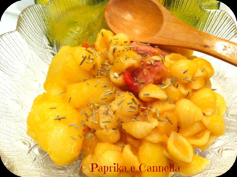 Pasta e Patate di Paprika e Cannella