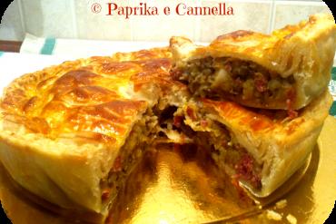 Torta di lenticchie e cotechino di Paprika e Cannella