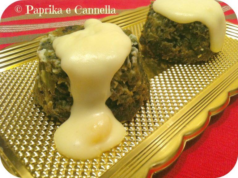 Tortino di spinaci di Paprika e Cannella
