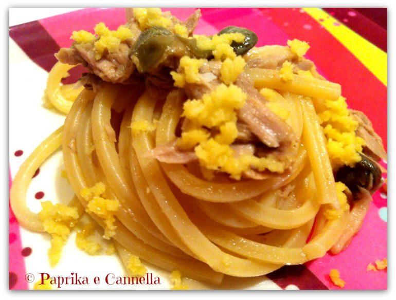Spaghetti tonno e limone di Paprika e Cannella Blog