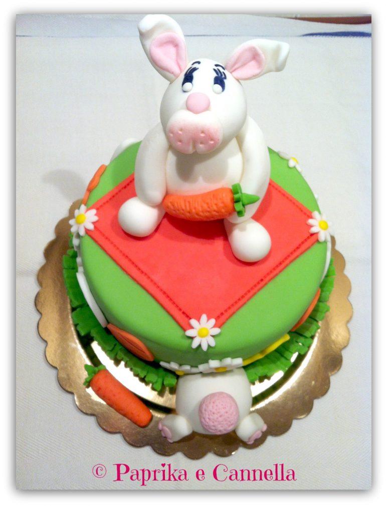Torta coniglietto pdz di Paprika e Cannella Blog