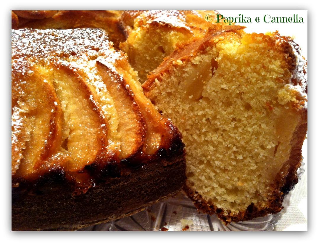 Ciambella al limone e mele, ricetta leggera I Paprika e Cannella