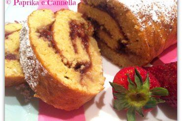 Rotolo al cocco e fragole di Paprika e Cannella Blog