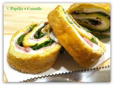 Rotolo di frittata al forno Paprika e Cannella Blog