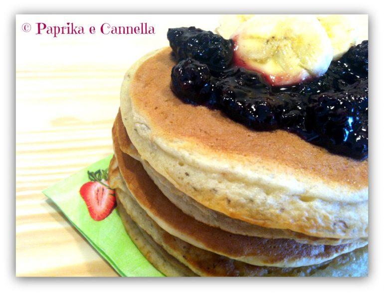 Banana Pancakes Paprika e Cannella Blog