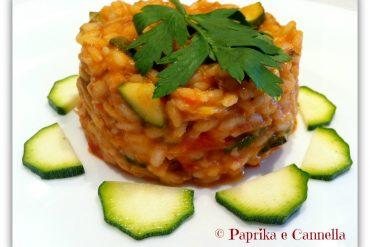 Risotto tonno e zucchine 1 Paprika e Cannella