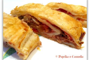 Strudel alla pizzaiola Paprika e Cannella Blog