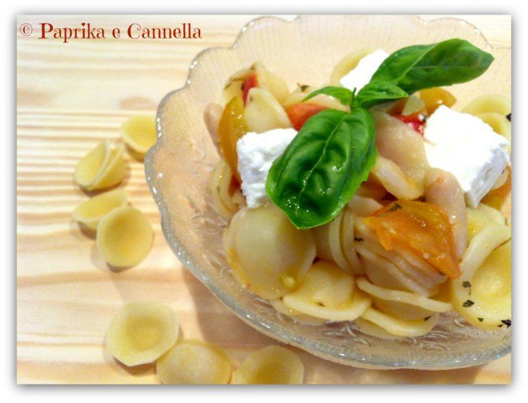 Orecchiette feta e cannellini Paprika e Cannella Blog