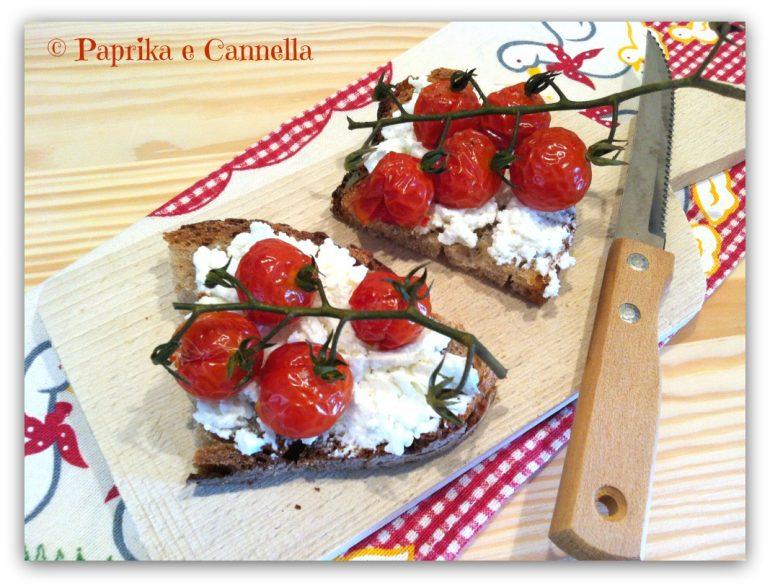 Pomodorini al forno Paprika e Cannella Blog