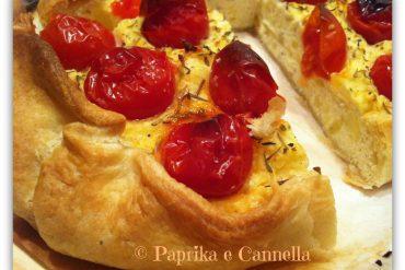 Torta rustica ricotta e pomodorini 1 Paprika e Cannella Blog