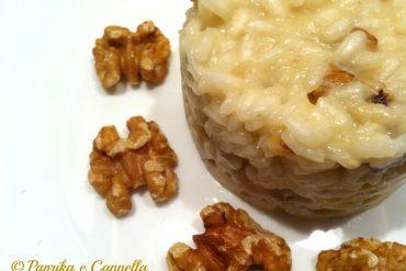 Risotto noci e gorgonzola 1 Paprika e Cannella Blog