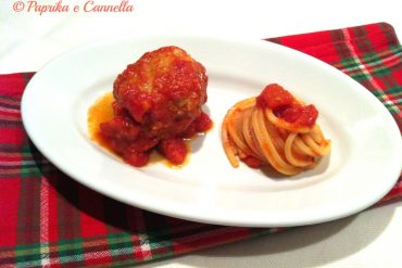 Spaghetti e polpette al sugo Paprika e Cannella