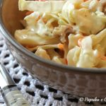 Cavolo verza insalata con  yogurt, ricetta