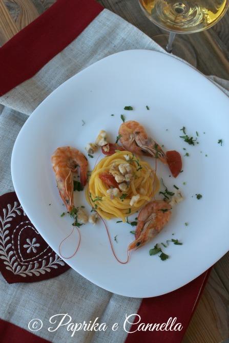 SpaghettiranapescatricemazzancolleG+PaprikaeCannellaBlog